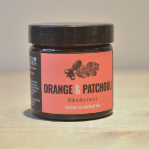 Déo solide orange patchouli