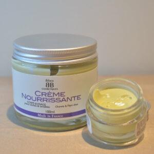 Crème nourrissante CHANVRE & THYM visage et corps